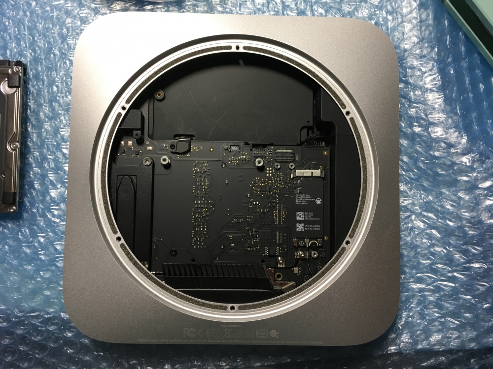 Mac mini Late 2014 HDD→SSD換装